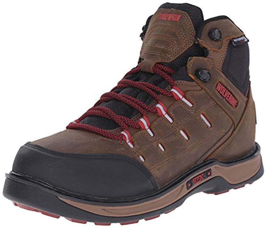 1915aa75f3a Lyst - Wolverine Edge Lx Epx Waterproof Work Boot for Men