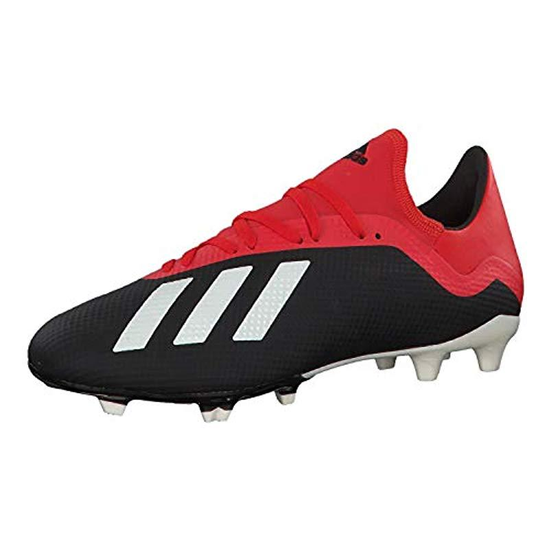 32afce2ae341 adidas X 18.3 Fg Footbal Shoes in Red for Men - Lyst