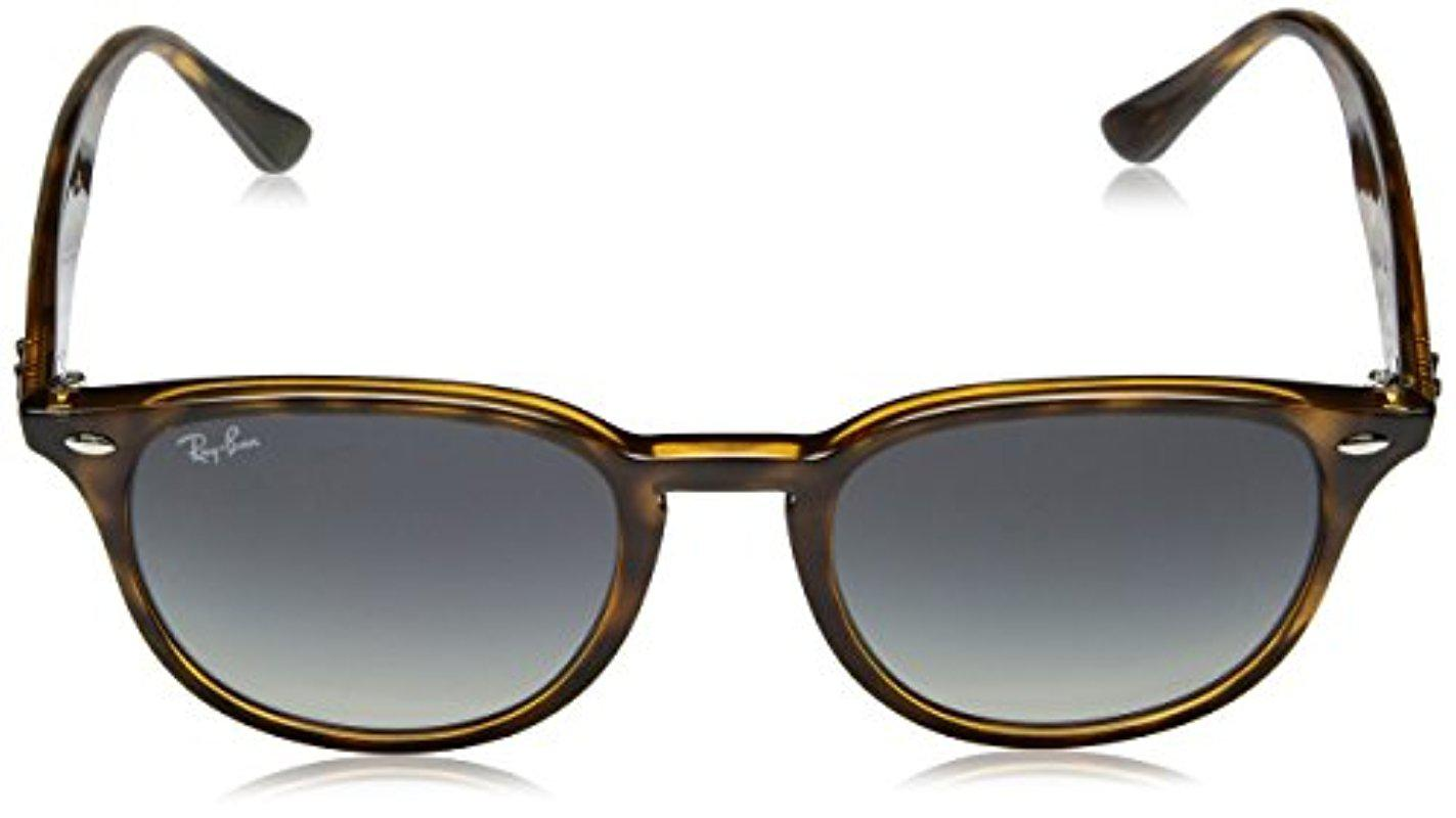 27daf1892d7 Ray-Ban - Multicolor Rb4259 Highstreet Round Sunglasses - Lyst. View  fullscreen