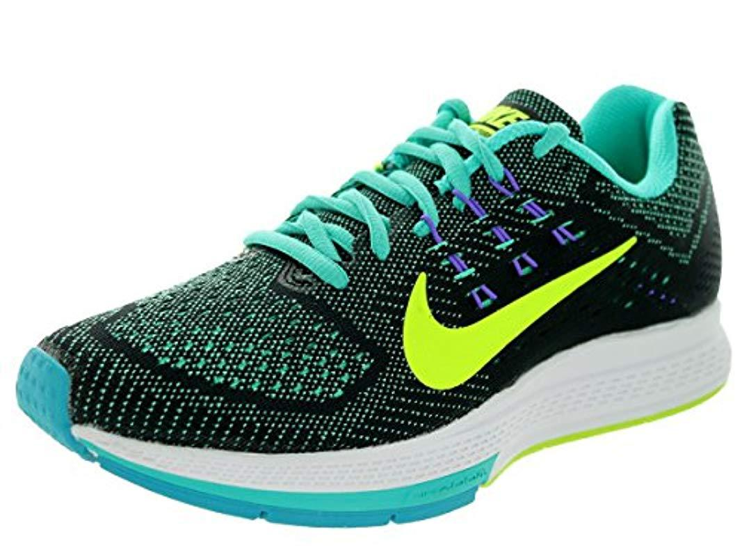 newest collection bce4c ac3fa Nike - Black W Air Zoom Structure 18, s Sports Shoes - Lyst. View  fullscreen
