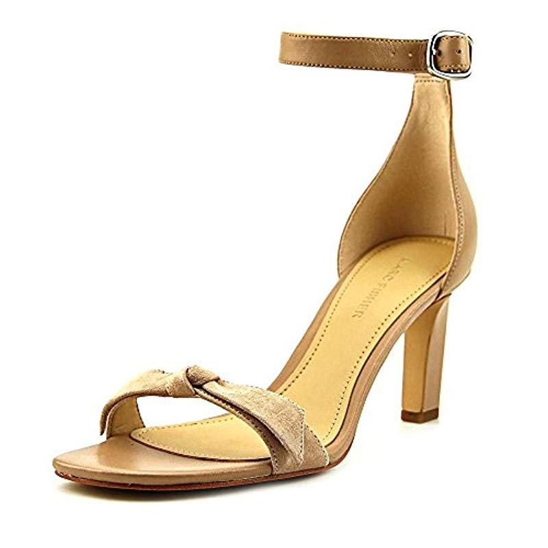 Lyst Marc Marc Lyst Fisher Dalli Heeled Sandale in Natural Save 363ecb