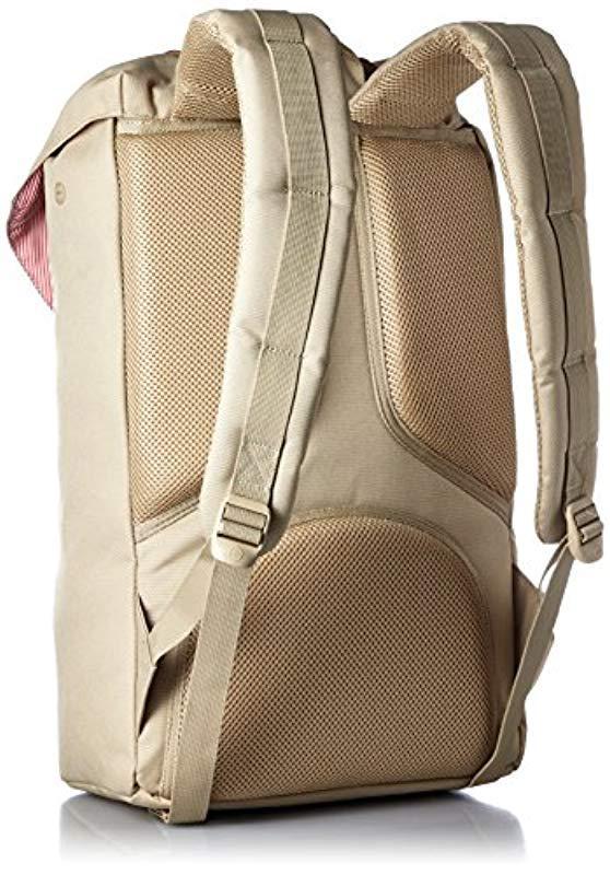 163bc5af47e3 Lyst - Herschel Supply Co. Little America Backpack in Natural for Men