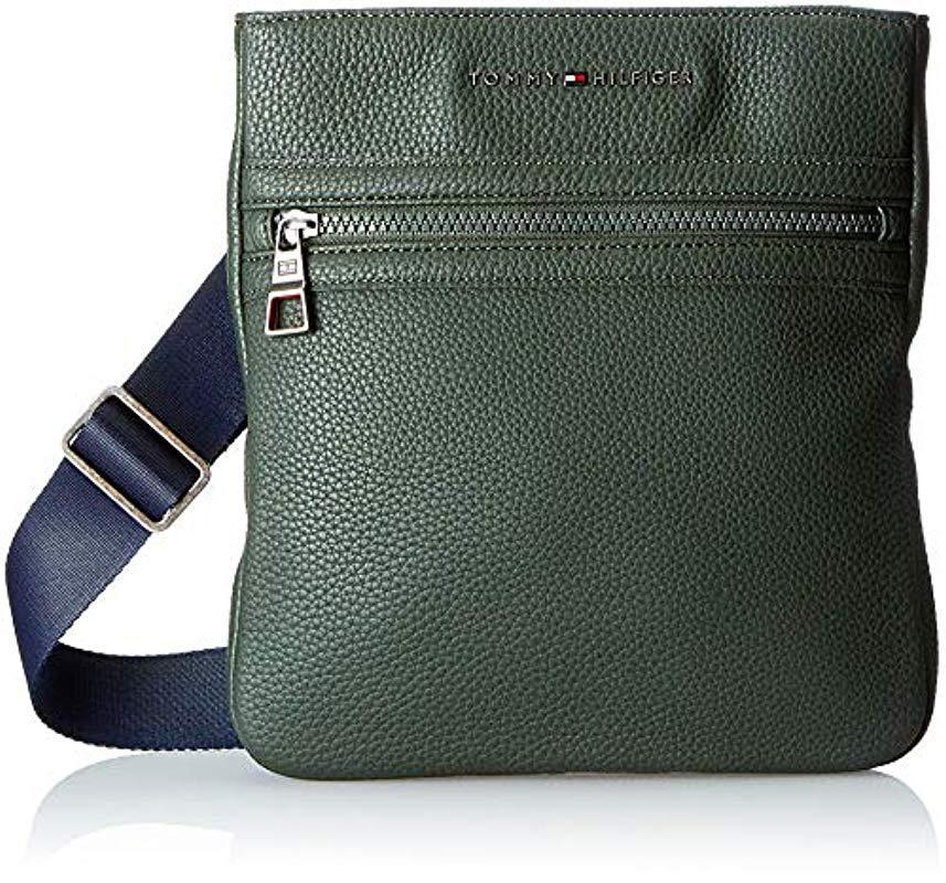 Tommy Hilfiger Essential Crossover Ii Shoulder Bag in Green for Men ... 13b6b0f9e7
