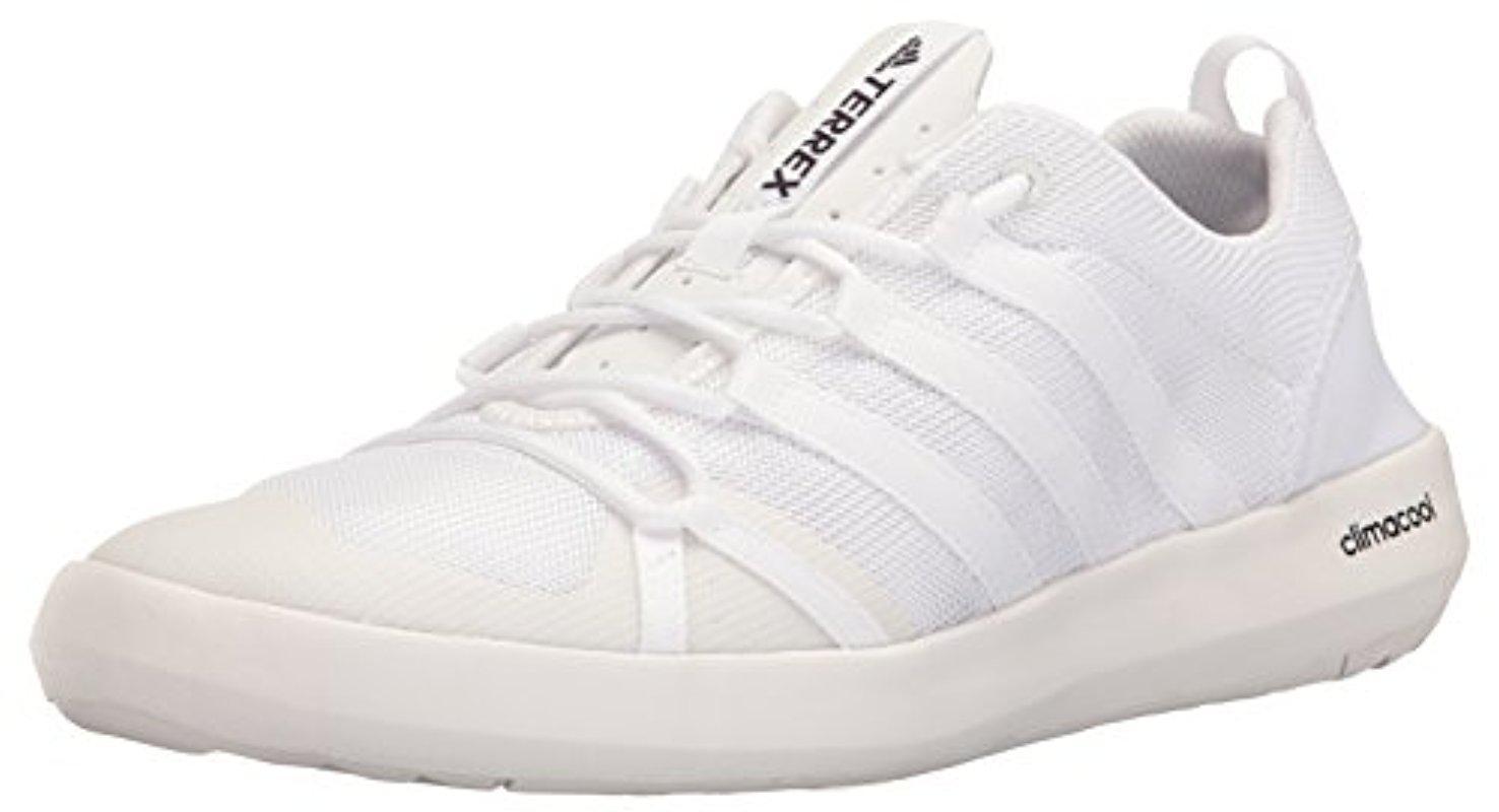 Lyst adidas Originals Terrex ClimaCool Boat Water zapatos en color blanco