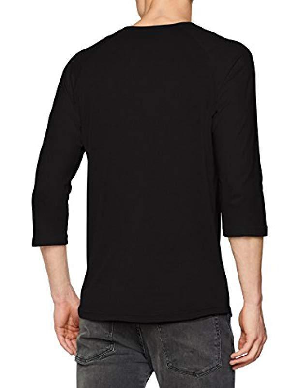 ba2482f1e5 Vans Classic Raglan T-shirt in Black for Men - Lyst