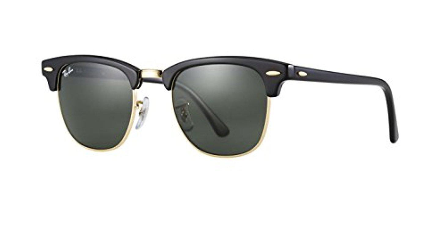 Lyst - Ray-Ban Rb3016 Classic Clubmaster Sunglasses in Black for Men