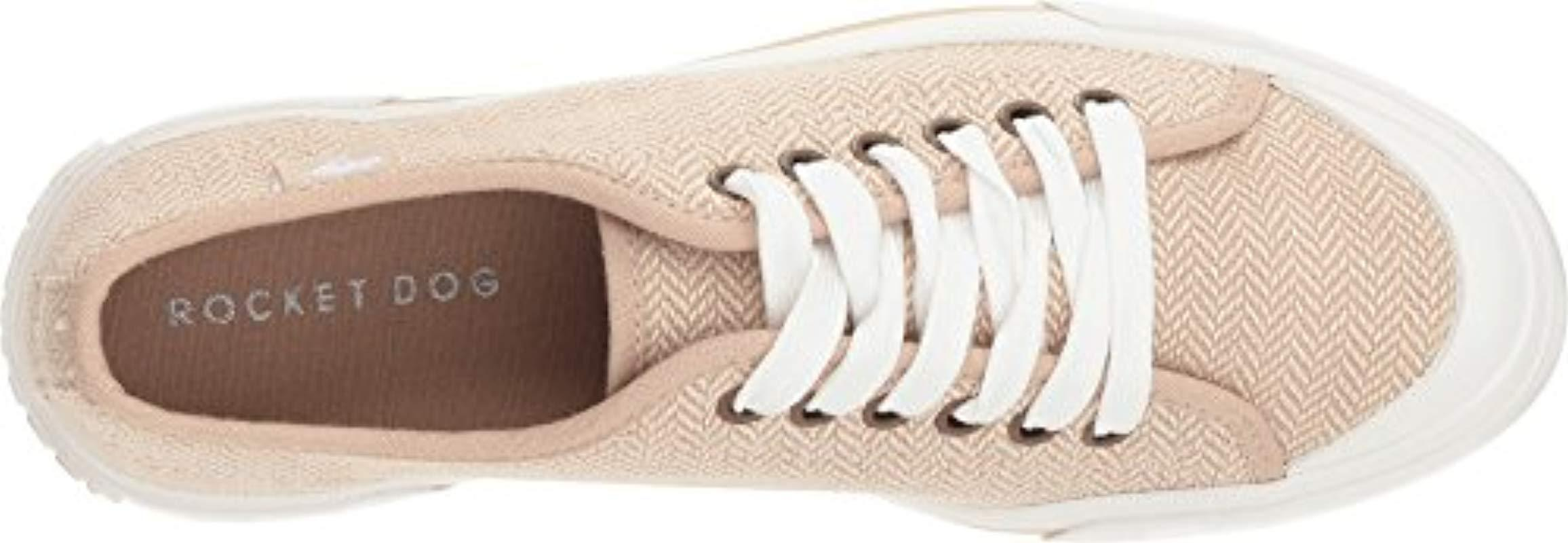 f9d047d87a6100 Lyst - Rocket Dog Jumpin Weekend Canvas Fashion Sneaker in Natural