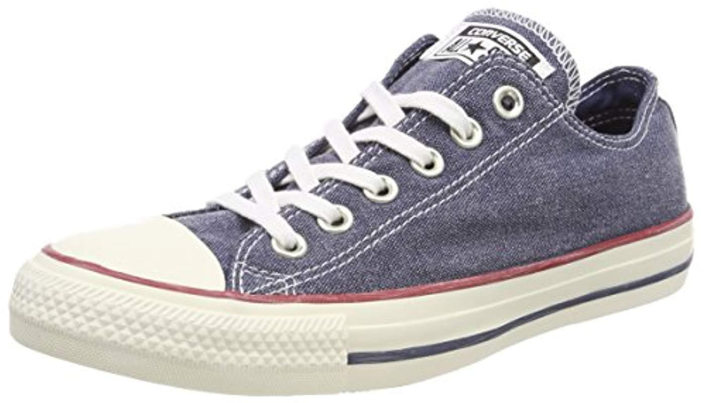Converse Unisex Adults  Ctas Ox Trainers in Blue for Men - Lyst 85f1c2956