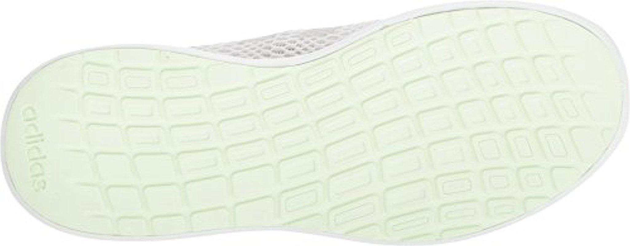 Lyst - adidas Cf Element Race W Running Shoe in White 4e03926ad813e