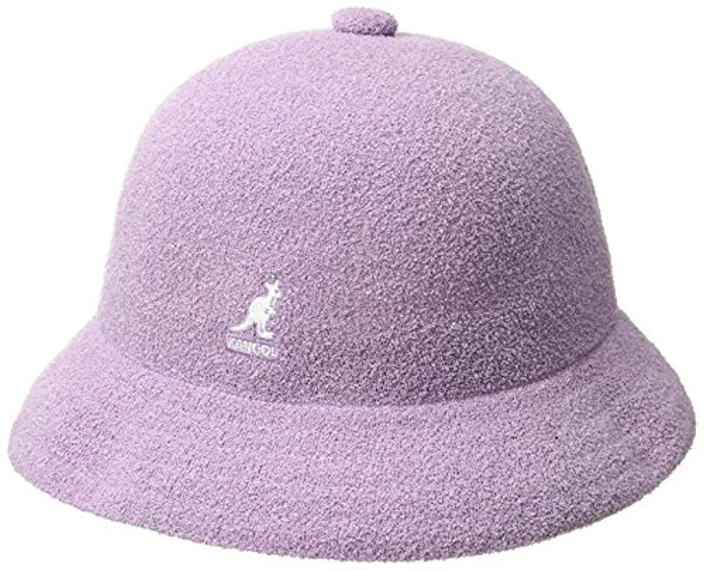 76440b53f4b Lyst - Kangol Bermuda Casual Bucket Hat in Purple for Men