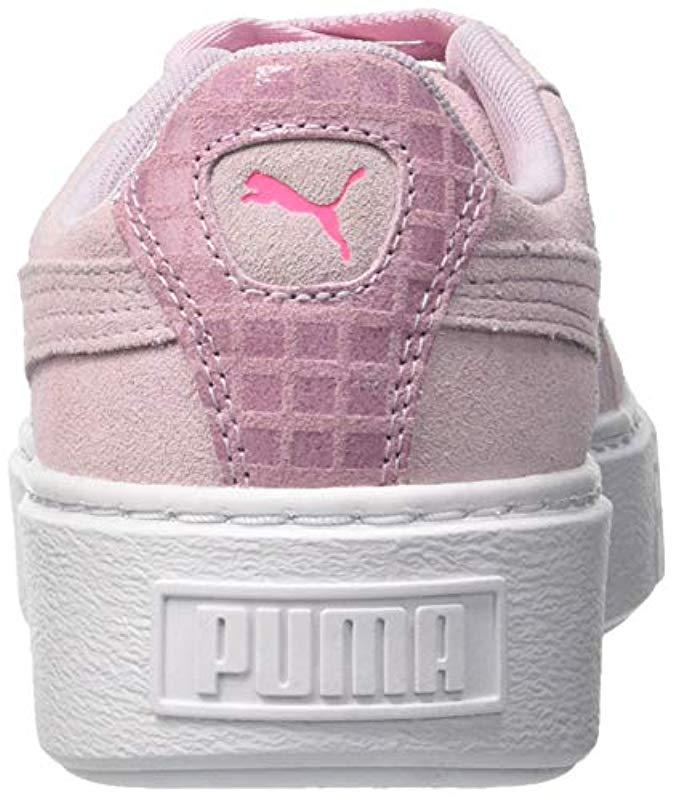 779978f73f70 PUMA Suede Platform Street 2 Wn s Low-top Sneakers in Pink - Lyst