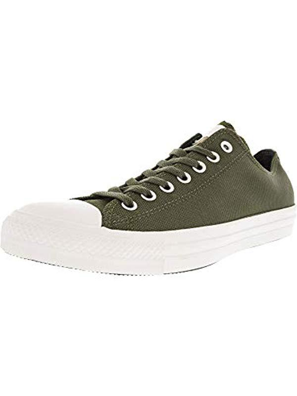 Lyst - Converse Chuck Taylor All Star Leather Low Top Sneaker in ... a6c7f506c