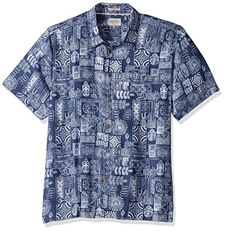 64ed91d15 Lyst - Quiksilver Tikitaka Comfort Fit Button Down Shirt in Blue for Men