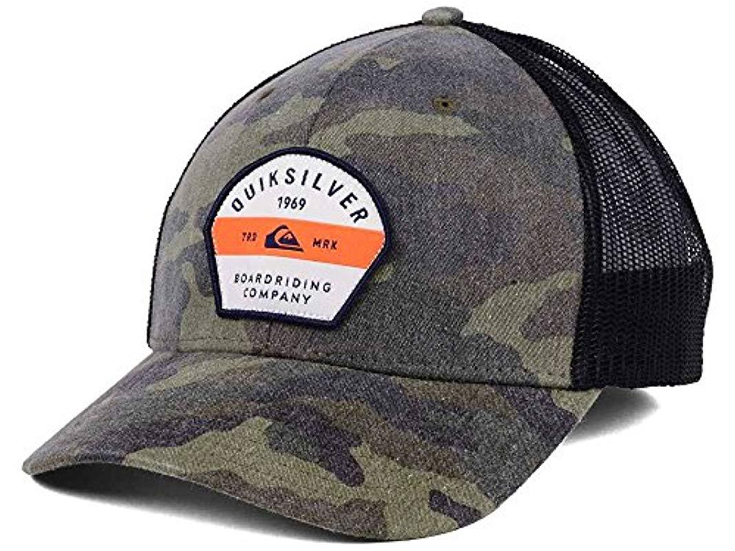 7a892430b2c ... clearance lyst quiksilver silver lining hat for men b5645 89297