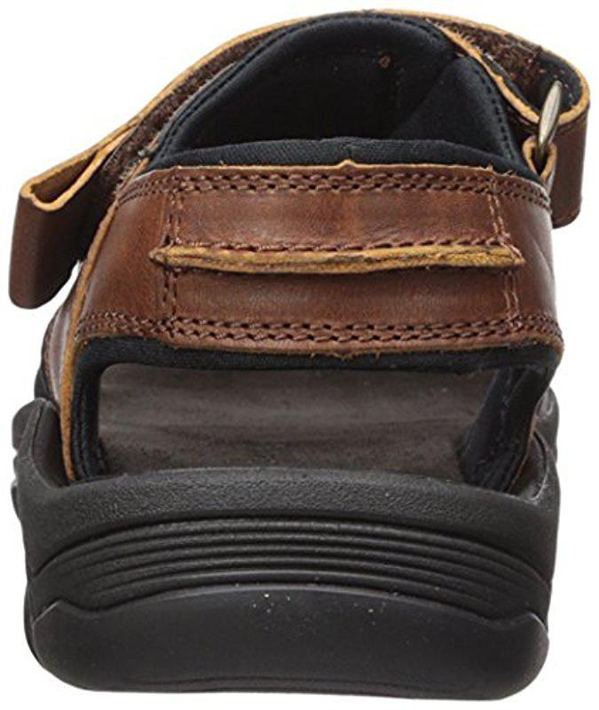 71667b7f8280 Timberland - Brown Roslindale 2-strap Sandal for Men - Lyst. View fullscreen