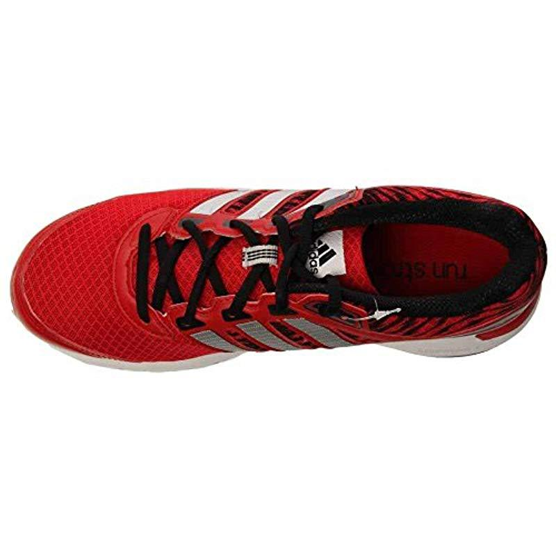 promo code 31807 a7ff6 Lyst - Adidas Performance Duramo 6 M Running Shoe in Red for