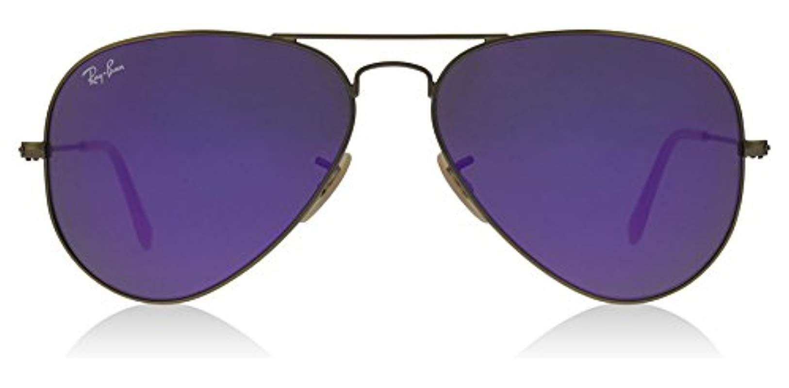 d974f90f7e Ray-Ban - Multicolor Unisex Rb3025 Aviator Polarized Sunglasses 55mm for  Men - Lyst.