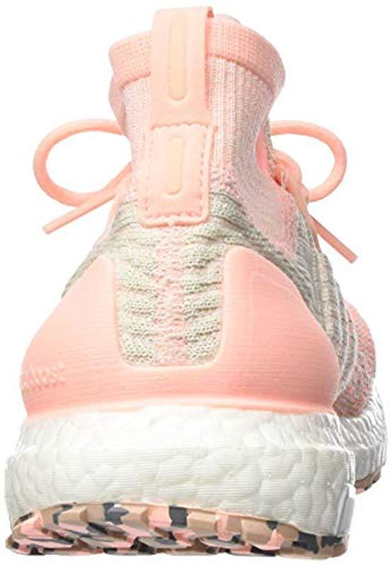 bd31d6aa6ed20 Adidas - Pink Ultraboost All Terrain W Running Shoes - Lyst. View fullscreen