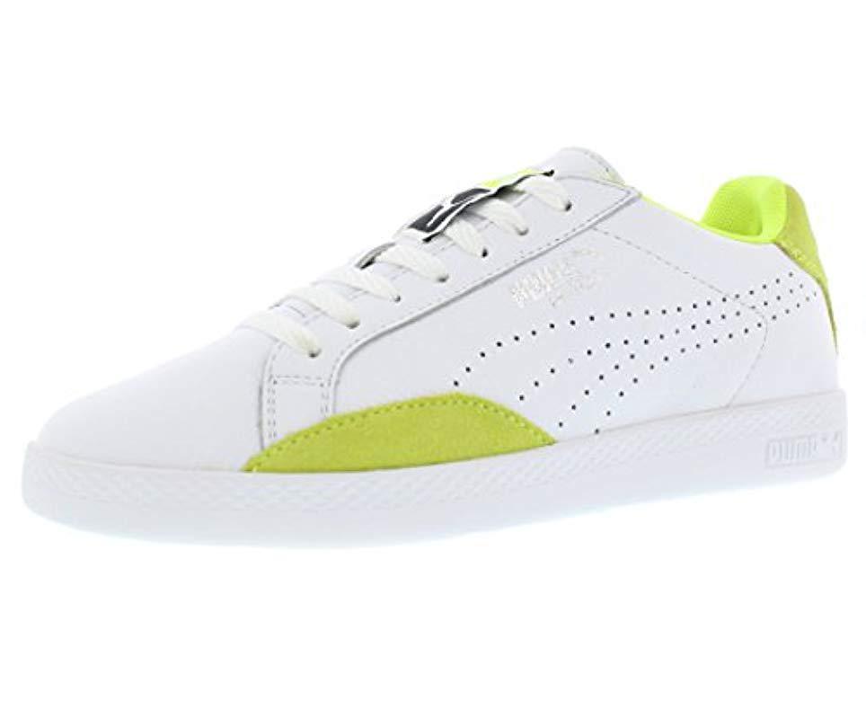 2fbb865c770 Lyst - Puma Match Lo Basic Sports Wn s Tennis Shoe in White
