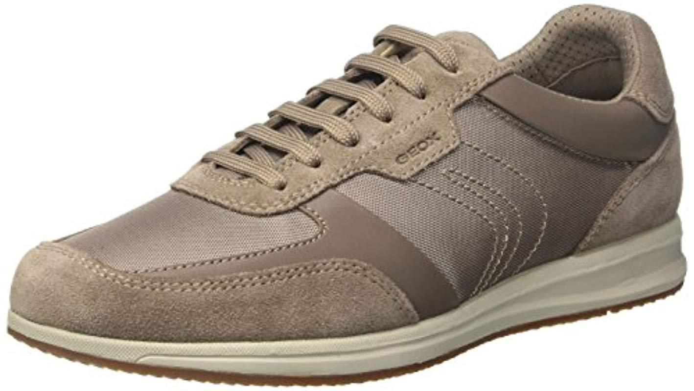 9221a15234579 Geox  s U Avery B Low-top Sneakers in Gray for Men - Lyst