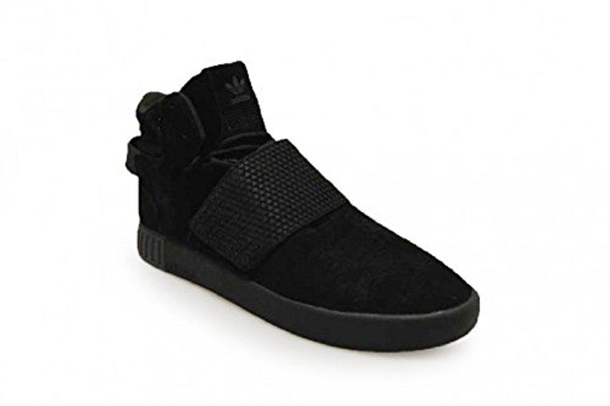 7f1a4988d722 Adidas Originals - Black Tubular Invader Strap Shoes - Lyst. View fullscreen