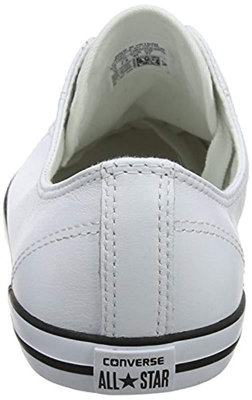 47d6ba68f001 Converse Chuck Taylor All Star Dainty Low-top Sneakers - Lyst