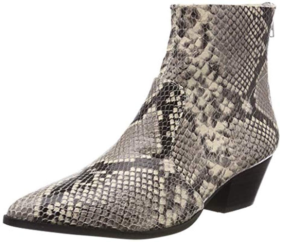 d49ac0acd41 Steve Madden Cafe Ankleboot (snake) Ankle Boots - Lyst