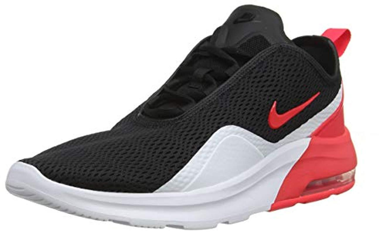 on sale 78406 42d5a Nike Air Max Motion 2 Running Shoes in Black for Men - Lyst