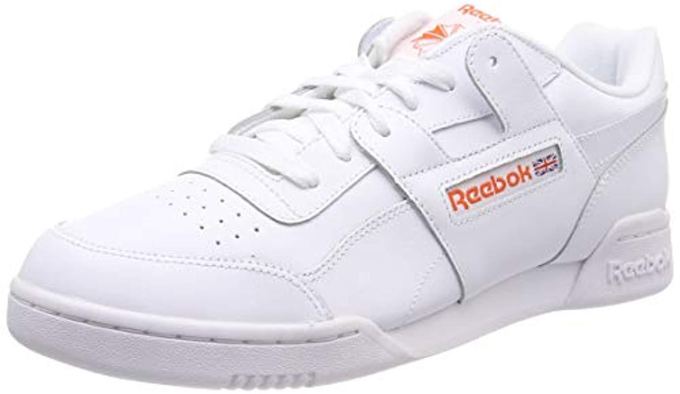 c275e20198e38 Reebok Workout Plus Mu Gymnastics Shoes in White for Men - Lyst