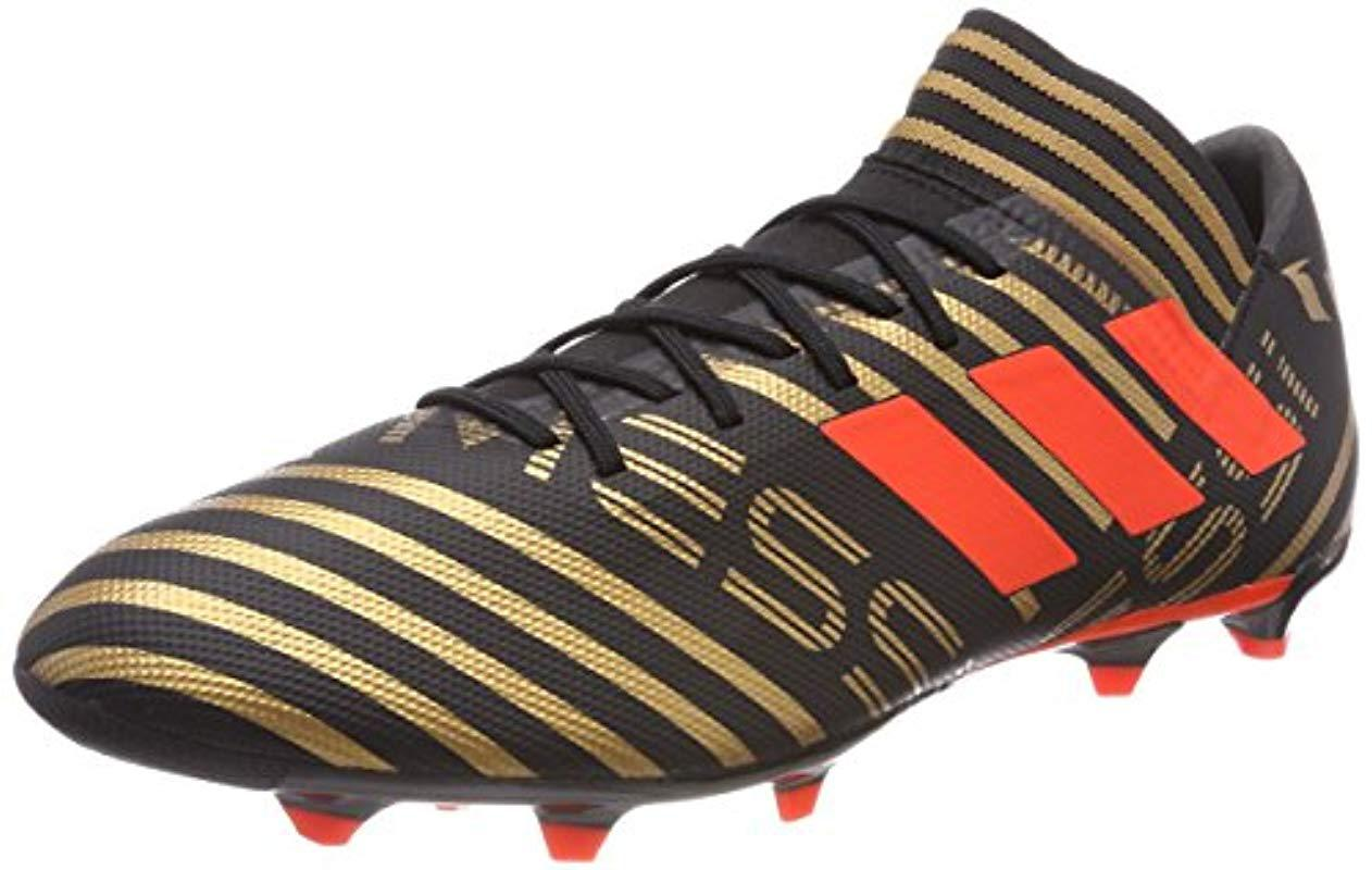 9de89b1e78253 adidas Nemeziz Messi 17.3 Fg Footbal Shoes in Black for Men - Lyst