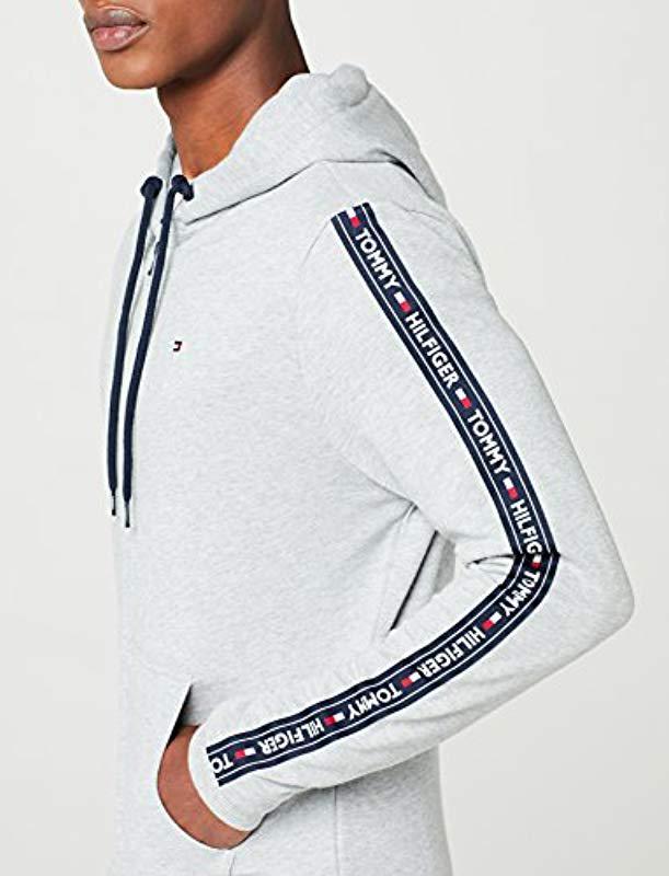 8b31588dc Tommy Hilfiger - Gray Hoody Ls Hwk Sweatshirt for Men - Lyst. View  fullscreen
