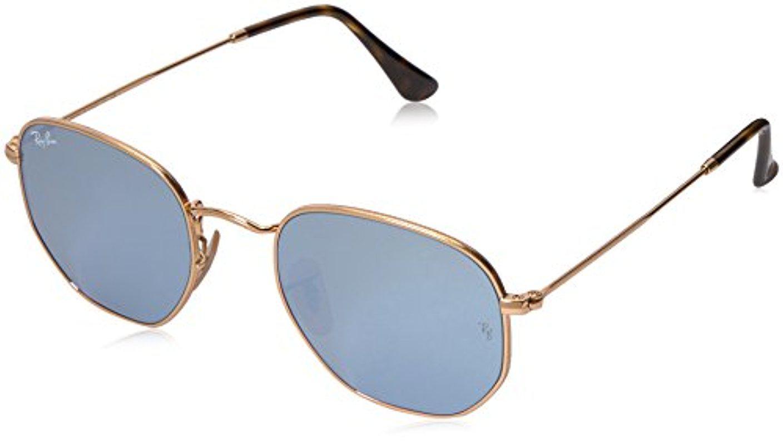 cc8ff56fc4 Lyst - Ray-Ban Rb3548n 001 30 Non-polarized Hexagonal Sunglasses ...