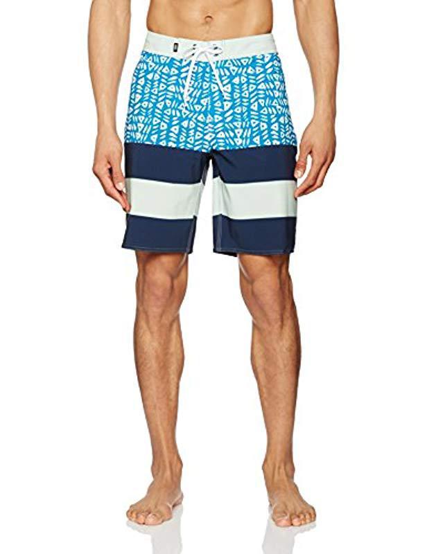 04e1ecf9976 Vans Era Boardshort Swim Trunks in Blue for Men - Lyst