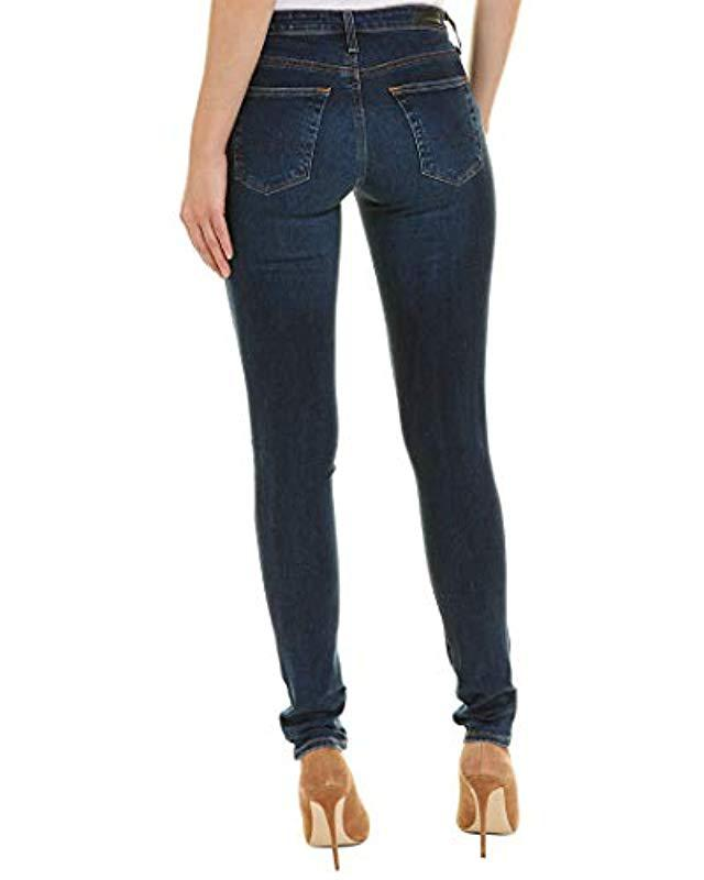 997d5220a090a Lyst - AG Jeans The Legging Super Skinny Jean in Blue - Save 68%