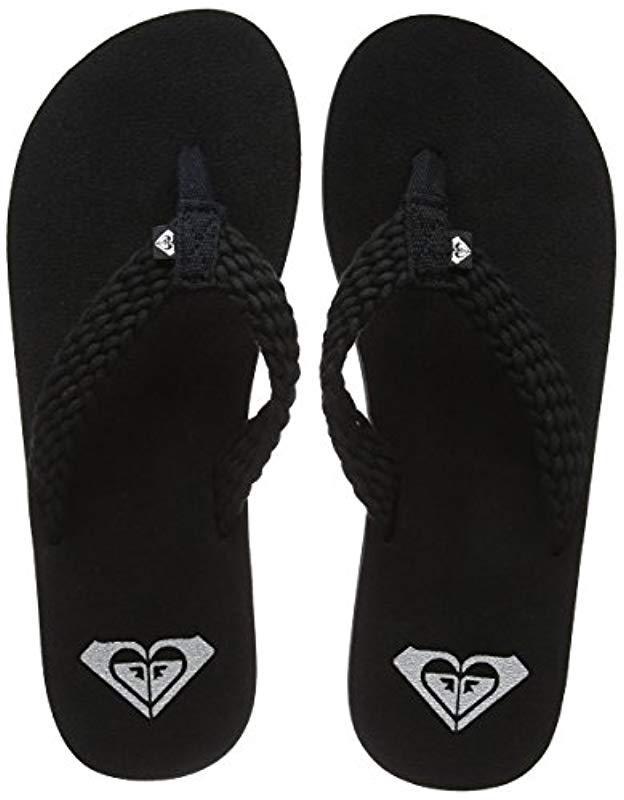 81900eb6d Roxy Porto Ii Beach   Pool Shoes in Black - Lyst