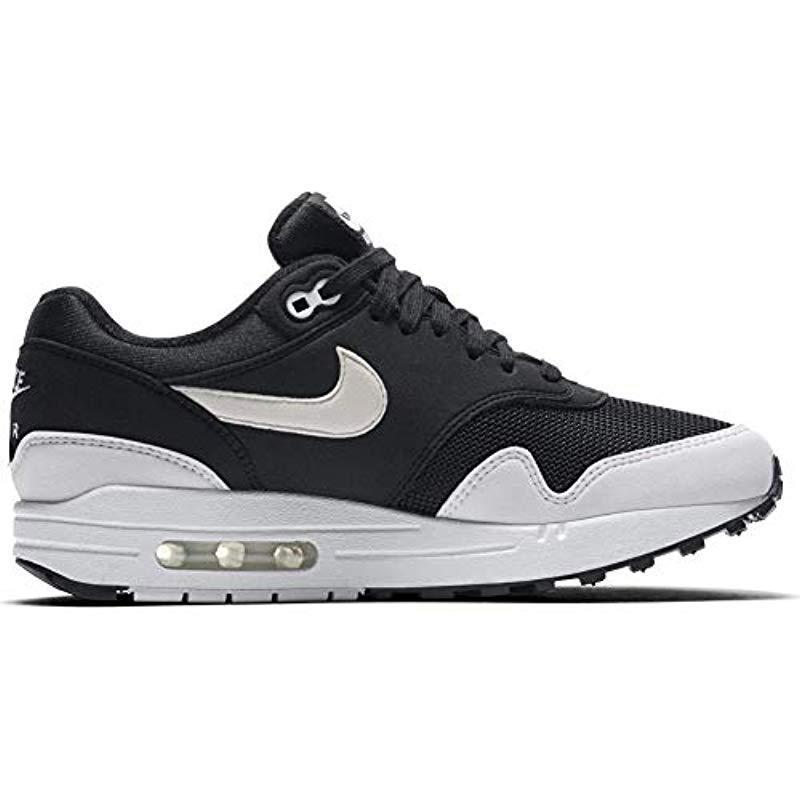 huge discount a791a 95717 Nike - Black Wmns Air Max 1 Low-top Sneakers - Lyst. View fullscreen