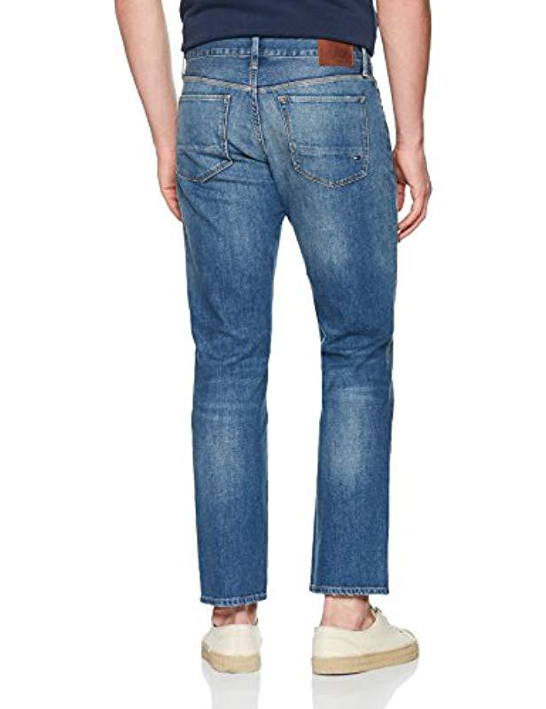 063396a4 Tommy Hilfiger Mercer-str Norman Blue Straight Jeans in Blue for Men - Lyst