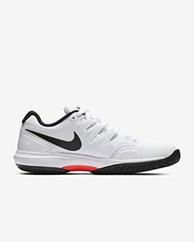 ce9a2449d0fb Nike Air Zoom Prestige Hc Tennis Shoes in White for Men - Lyst