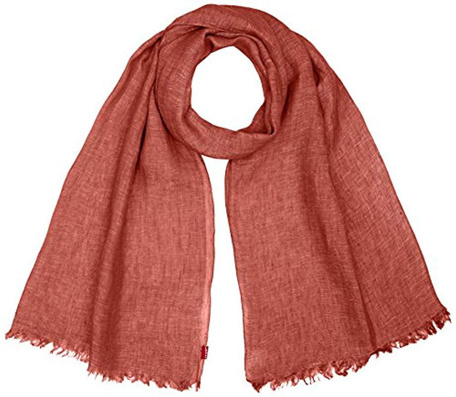 Levi S New Romaine Oblong Shawl in Red for Men - Lyst 943599feeae16