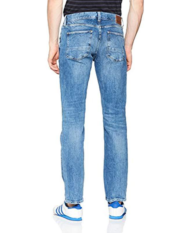 ea7fe30a Tommy Hilfiger Regular Mercer Bethune Blue Straight Jeans in Blue for Men -  Lyst