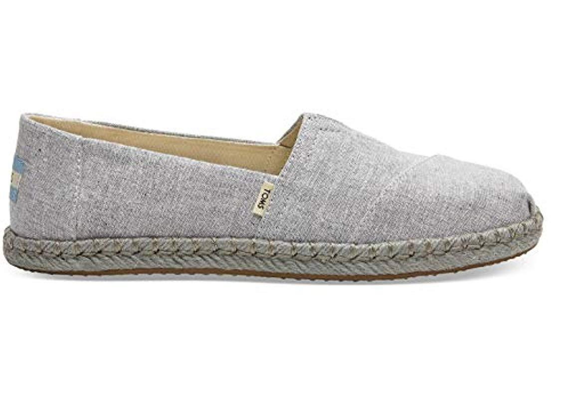 a4eaebf7d80 Lyst - TOMS Classic Canvas Slip-on Shoe in Gray