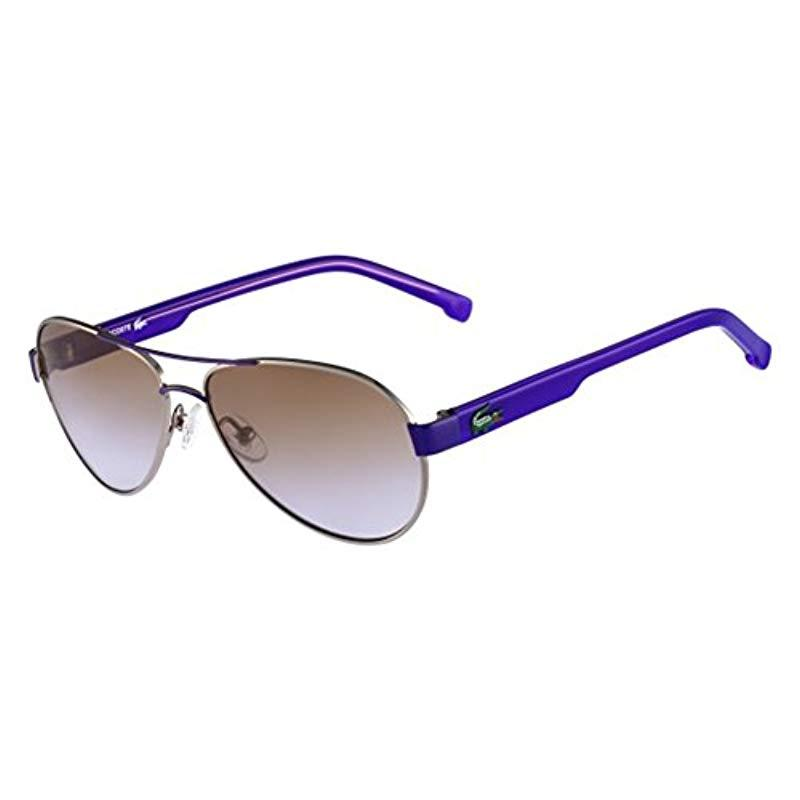 ffc52646ae6 Lacoste. Blue Unisex s L3103s 033 53 Sunglasses