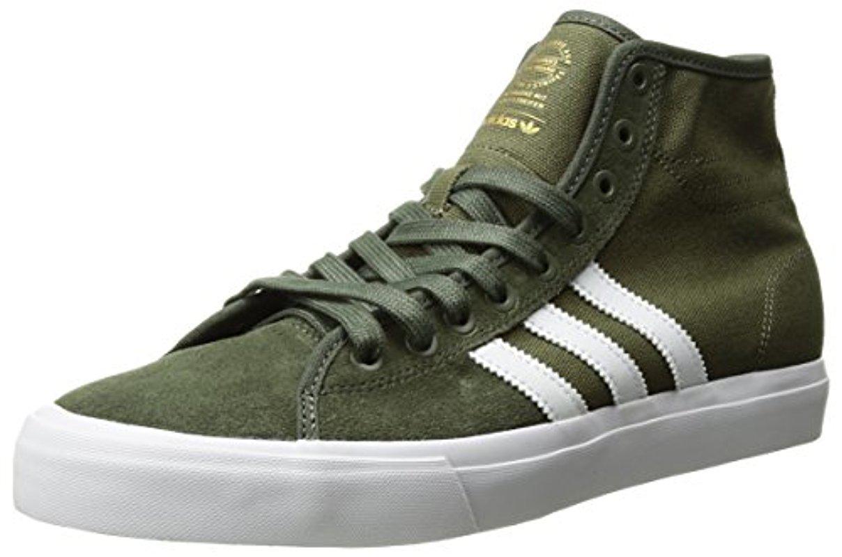 Lyst Adidas Originali Matchcourt Alto Rx In Verde Per Gli Uomini.