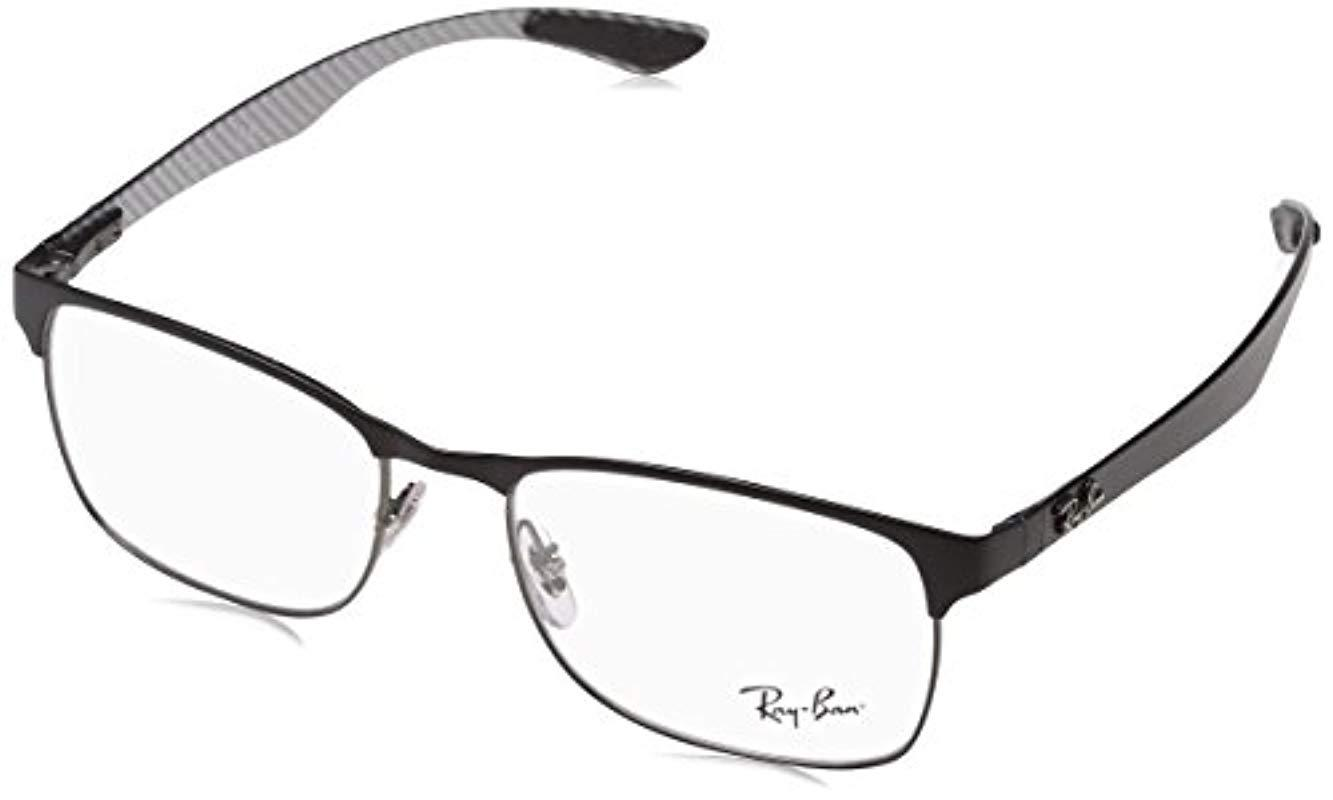 018ddbeda4 Ray-Ban. Men s Gray 0rx 8416 2916 55 Optical Frames ...