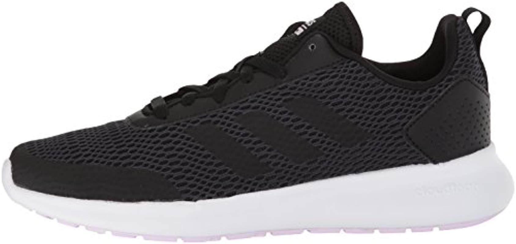 adidas Element Race Running Shoe, Blackcarbonaero Pink