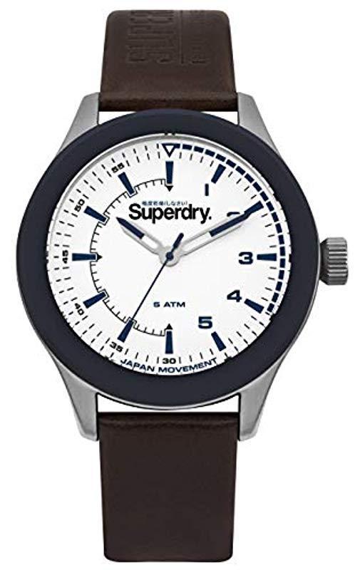 Lyst Für Syg231br Armbanduhr Weiß Herren Superdry In qSpGzUMV