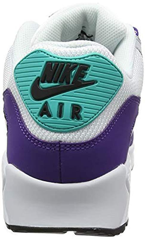 premium selection 28e91 b301f Nike - Air Max  90 Essential Shoe Gymnastics, Multicolour (white black .  View fullscreen