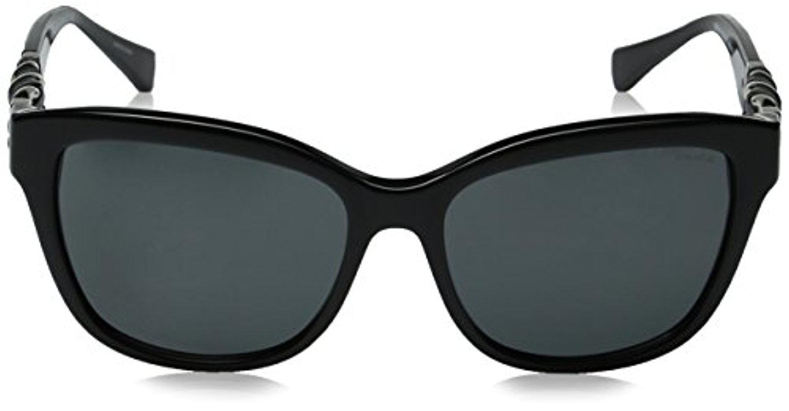 002c732b3878 COACH Hc8156q L131 Sunglasses 56mm in Black - Lyst