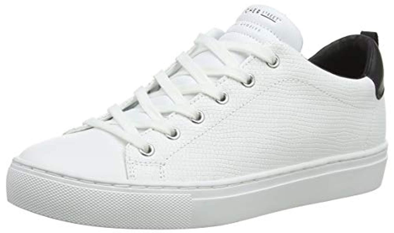 d9763f4e ... Skechers - White Side Street-tegu Trainers - Lyst · Visit Amazon. Tap  to visit site