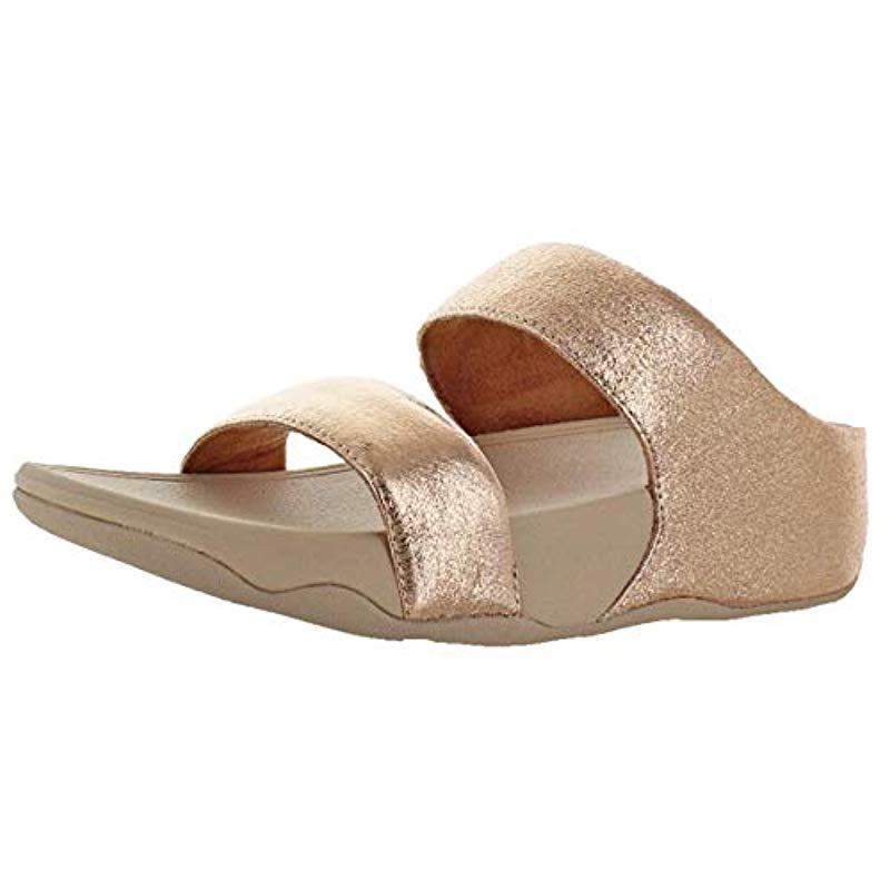7ce0cb37740 Fitflop. Women s Lulu Glitzy Slide Sandal